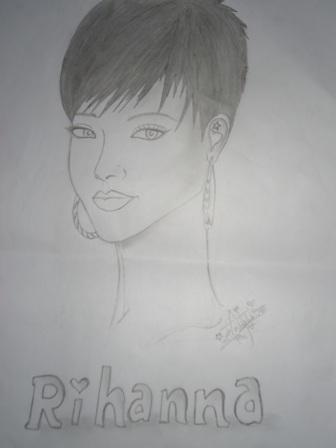 Rihanna by xiomara